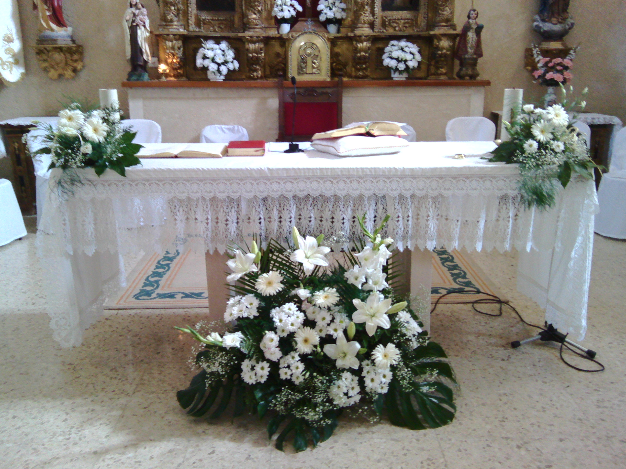 Decoración De Bodas Flor De Loto Floristería En Segovia
