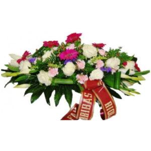 Centro de flores para tanatorio