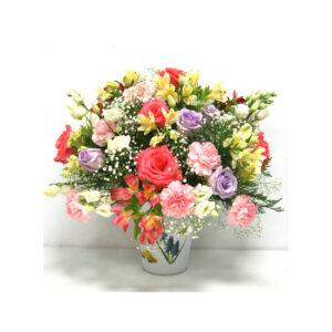 Combinación de flores al más puro estilo Vitange