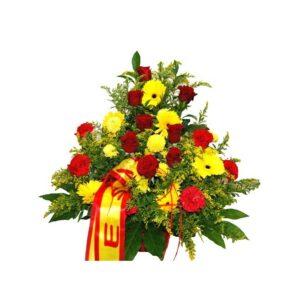 Centro funerario Rojo y Amarillo