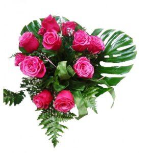 Ramo de 9 rosas rojas